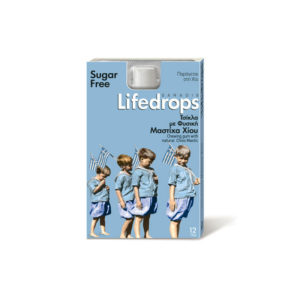 Mastic Gum Lifedrops Sugar free