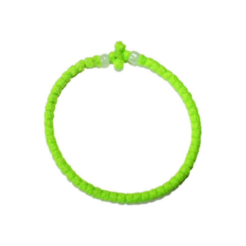 Prayer rope - Komboskini (green thin)