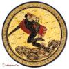 Hermes - Handmade clay plate
