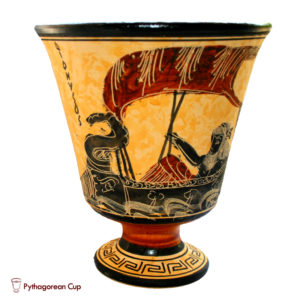 Dionysus on the ship - Pythagorean cup