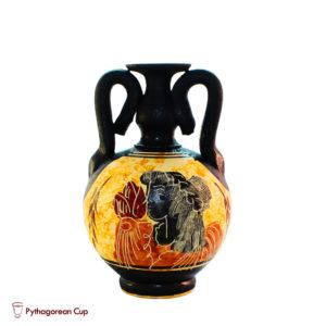 Greek Ancient mini clay jug