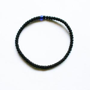 Prayer rope - Komboskini (black thin)