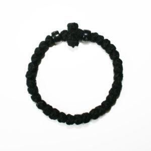 Prayer rope - Komboskini (black thick)