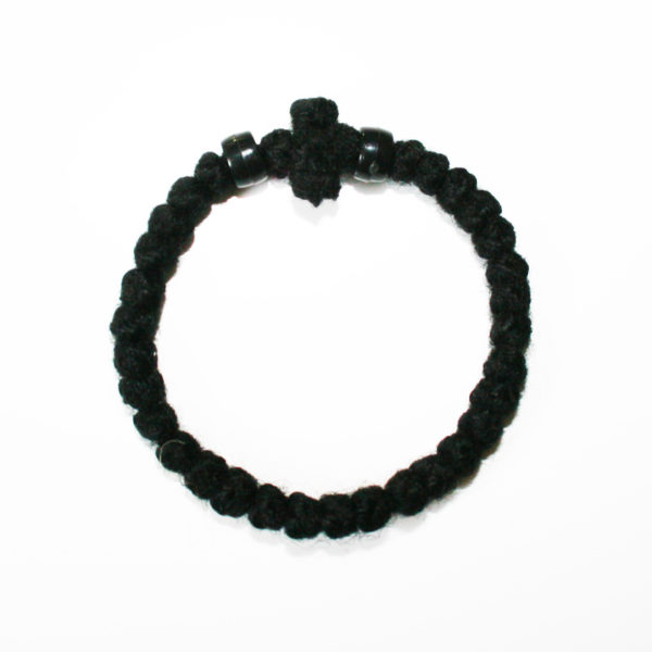 Prayer rope - Komboskini (black thick)