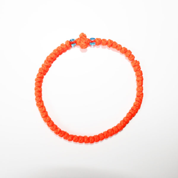 Prayer rope - Komboskini (orange thin)