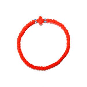 Prayer rope - Komboskini (orange thin)