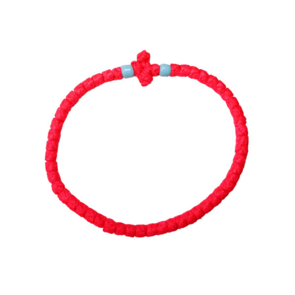 Prayer rope - Komboskini (pink thin)