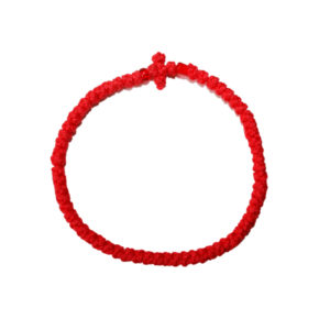Prayer rope - Komboskini (red thin)