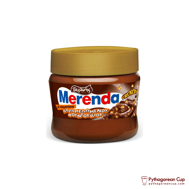 Chocolate spread Merenda Caramel Nuts - 230gr