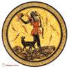 Artemis - Handmade clay plate