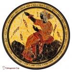 Hera - Handmade clay plate